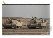 M1 Abrams Tank At Camp Warhorse Carry-all Pouch