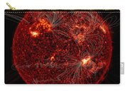 Magnetic Field Lines On The Sun Carry-all Pouch