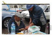 Marseilles Fishermen Carry-all Pouch