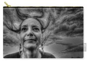 May-belle Chasing The Wind Carry-all Pouch
