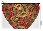 Mechanical Heart Carry-all Pouch by Michal Boubin