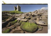 Minard Castle And Rocky Beach Minard Carry-all Pouch