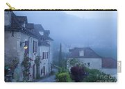 Misty Dawn In Saint Cirq Lapopie Carry-all Pouch