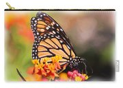 Monarch And Milkweed Carry-all Pouch