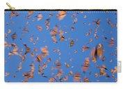 Monarch Danaus Plexippus Butterflies Carry-all Pouch