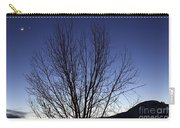 Moon And Venus Conjunction Carry-all Pouch