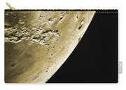 Moon, Apollo 16 Mission Carry-all Pouch by Science Source