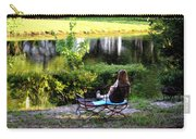 Morning By The Pond Carry-all Pouch
