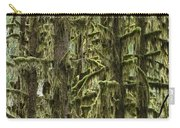 Moss Covered Trees, Hoh Rainforest Carry-all Pouch