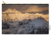 Mount Rolleston At Dawn Arthurs Pass Np Carry-all Pouch
