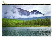 Mountain Lake In Jasper National Park Carry-all Pouch