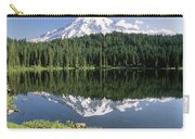 Mt Rainier Reflected In Lake Mt Rainier Carry-all Pouch