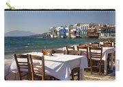 Mykonos Carry-all Pouch by Joana Kruse