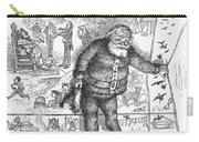Nast: Santa Claus, 1890 Carry-all Pouch
