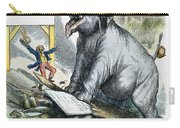 Nast: Tweed Cartoon, 1875 Carry-all Pouch by Granger