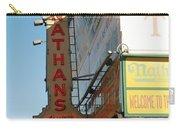 Nathan's Famous At Coney Island  Carry-all Pouch