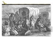 Native Americans: Gambling, 1870 Carry-all Pouch by Granger