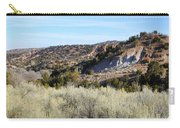 New Mexico Series - A View Of The Land Carry-all Pouch
