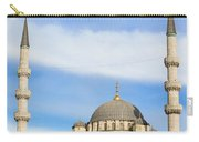 New Mosque In Istanbul Carry-all Pouch