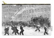 New York: Snowstorm, 1867 Carry-all Pouch