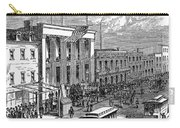 New York: The Bowery, 1871 Carry-all Pouch