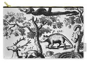 North America: Fauna Carry-all Pouch