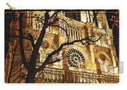 Notre Dame De Paris Carry-all Pouch by Elena Elisseeva