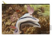 Nudibranch Feeding On The Reef, Fiji Carry-all Pouch