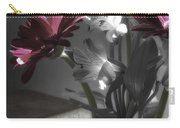 Pink Gerbera Floral Still Life Carry-all Pouch