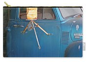 Old Blue Farm Truck Carry-all Pouch
