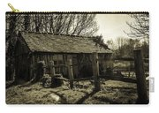 Old Fashioned Shed Carry-all Pouch by Dawn OConnor