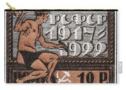 old Russian postage stamp Carry-all Pouch