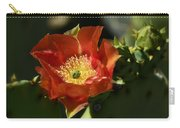 Orange Prickly Pear Blossom  Carry-all Pouch