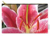 Oriental Lily Named La Mancha Carry-all Pouch