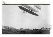 Orville Wright In Wright Flyer, 1908 Carry-all Pouch