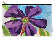 Our Very Bold Tibouchina Carry-all Pouch