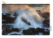 Over The Rocks Carry-all Pouch by Mike  Dawson
