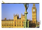 Palace Of Westminster From Bridge Carry-all Pouch