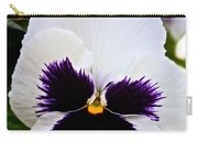 Pansy Face Carry-all Pouch