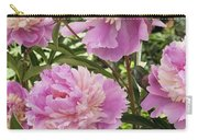 Peony Paeonia Sp Mme Emile Debatene Carry-all Pouch