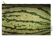 Peripheral Streak Image Of Watermelon Carry-all Pouch