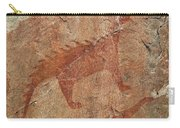 Petroglyph At Agawa Rock Carry-all Pouch