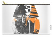 Pharaoh Stencil  Carry-all Pouch by Pixel  Chimp