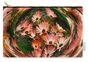 Pink African Daisies Carry-all Pouch