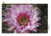 Pink Cactus Flower Carry-all Pouch