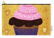 Pink Frosted Cupcake Carry-all Pouch
