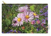 Pink New York Aster- Symphyotrichum Novi-belgii Carry-all Pouch