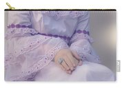 Pink Wedding Dress Carry-all Pouch by Joana Kruse