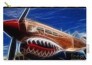 Plane Flying Tigers Carry-all Pouch
