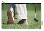 Playing Golf Carry-all Pouch